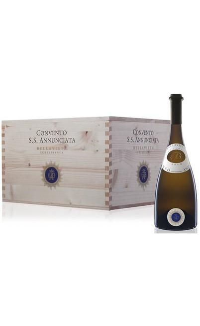 Cassa di legno contente 6 Bottiglie Convento Santissima Annunciata Doc Bellavista