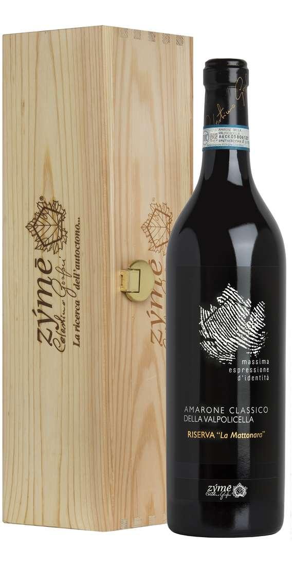 """Amarone Classico Riserva Dop 2006 """"La Mattonara"""" In Cassa Legno"""