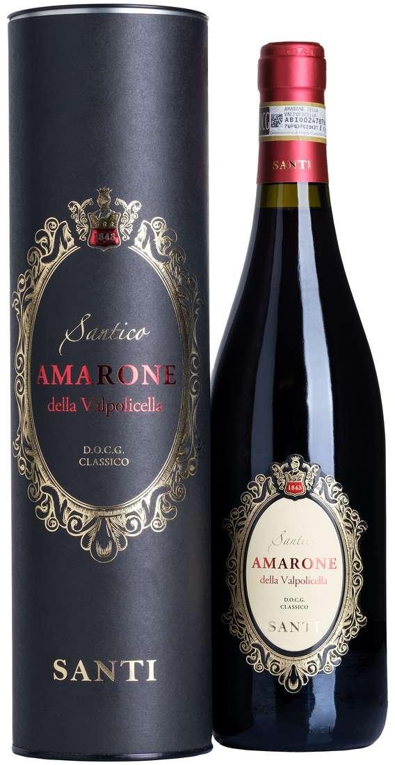 """Amarone della Valpolicella Classico """"SANTICO"""" DOCG in Astuccio di Latta"""