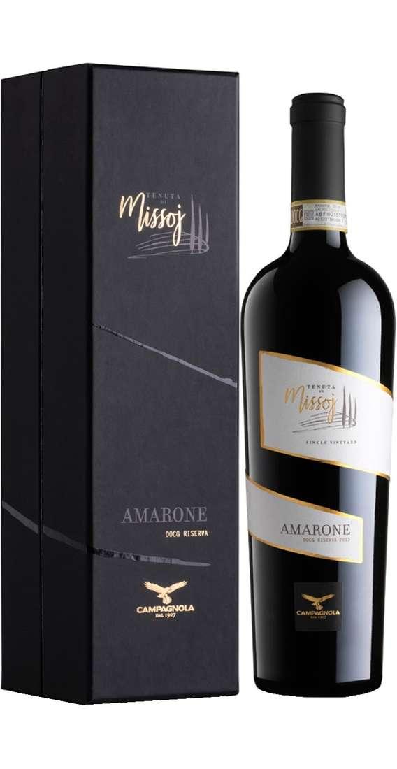 """Amarone della Valpolicella RISERVA """"Single Vineyard Tenuta di Missoj"""" DOCG"""