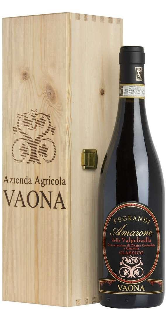 """Amarone DOCG """"Pegrandi"""" in Cassa Legno"""