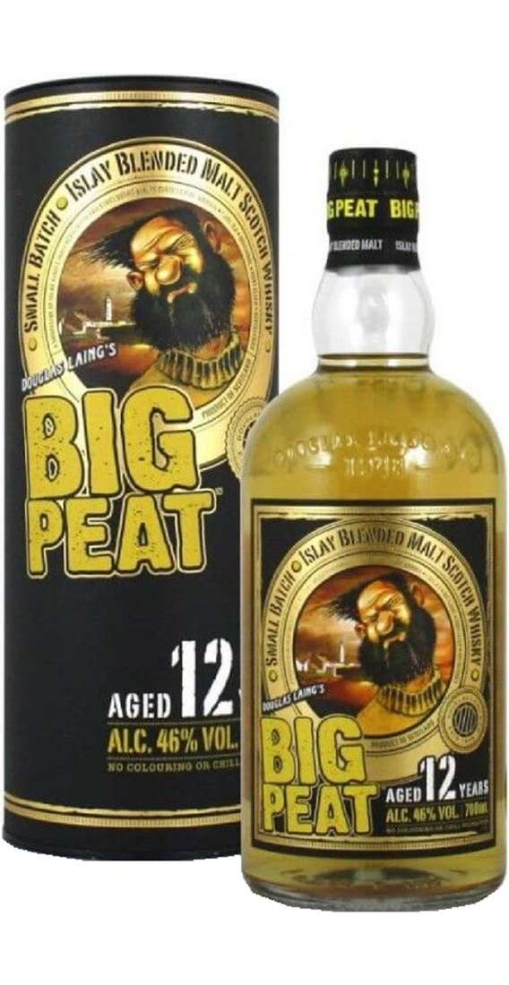 BIG PEAT 12 YEARS OLD WHISKY Astucciato