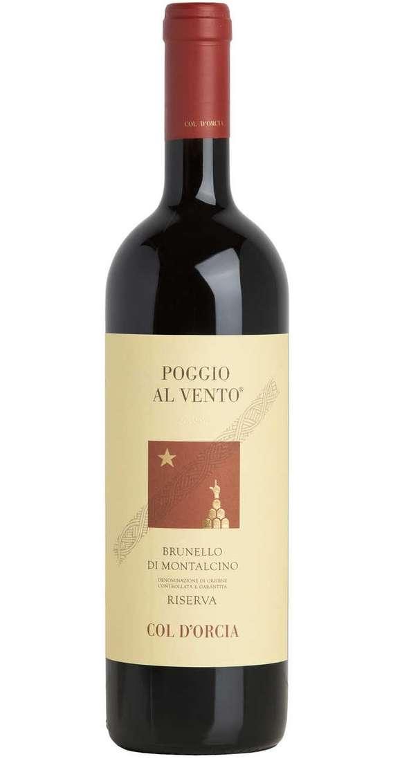 """Brunello di Montalcino Riserva 2001 """"Poggio al Vento"""" DOCG"""