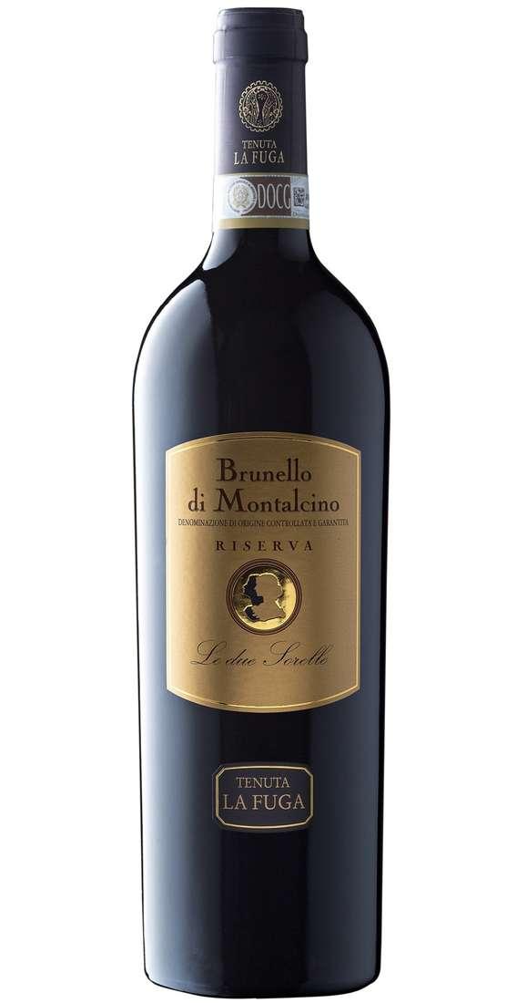 """Brunello di Montalcino RISERVA """"LE DUE SORELLE"""" DOCG Tenuta La Fuga"""