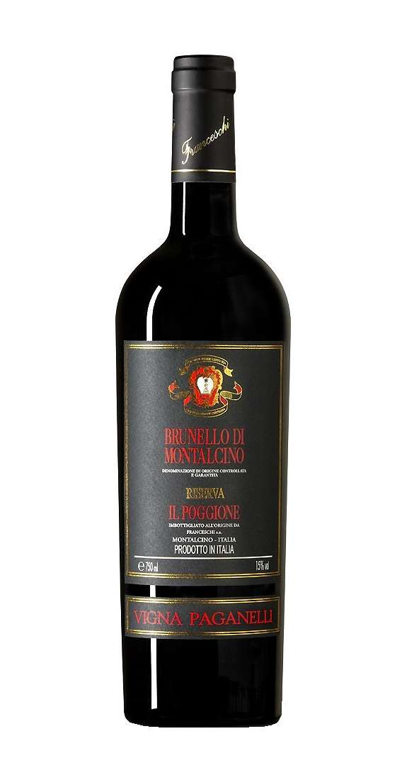 """Brunello di Montalcino RISERVA """"Vigna Paganelli"""" 2012 DOCG"""