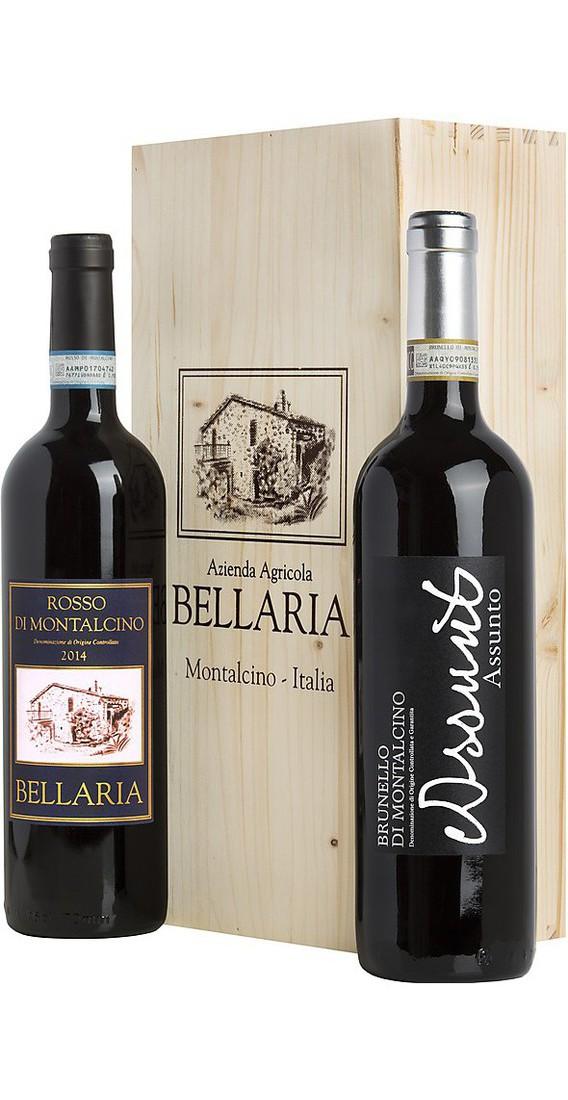 Brunello Montalcino e Rosso di Montalcino in Cassa di legno