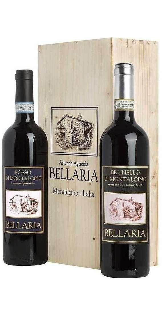 Brunello Montalcino e Rosso di Montalcino in Cassa Legno