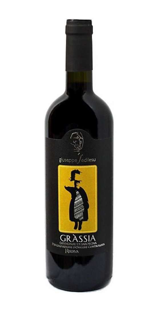 """Cannonau """"Grassia"""" Riserva DOC"""