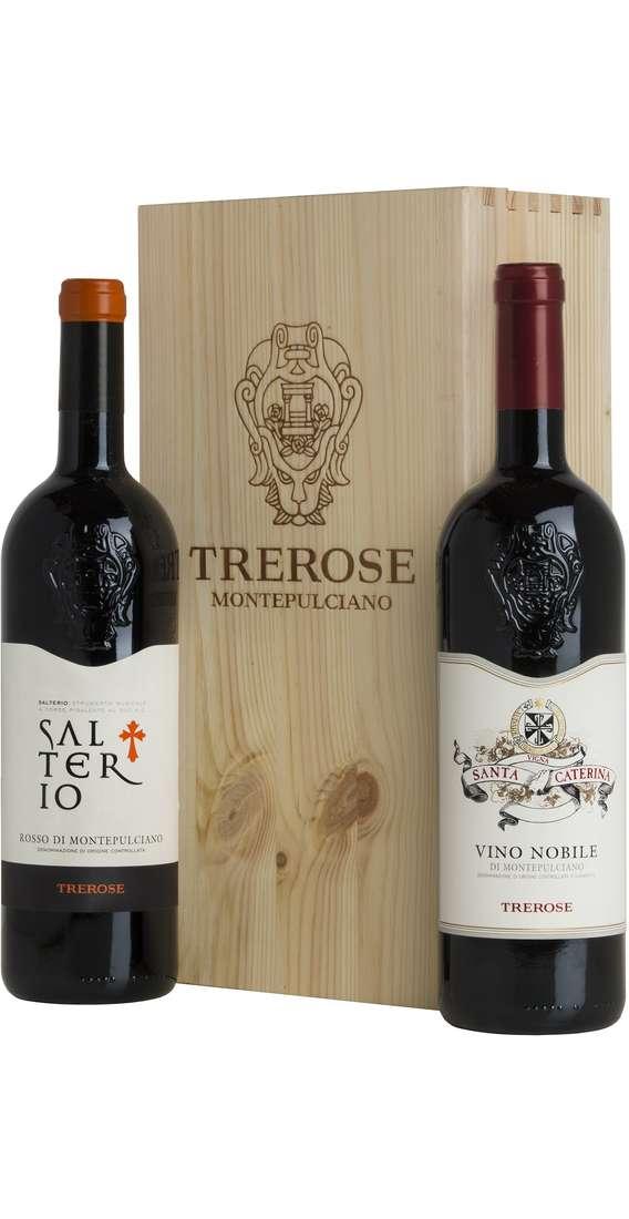 Cassa Legno 2 Vini Montepulciano