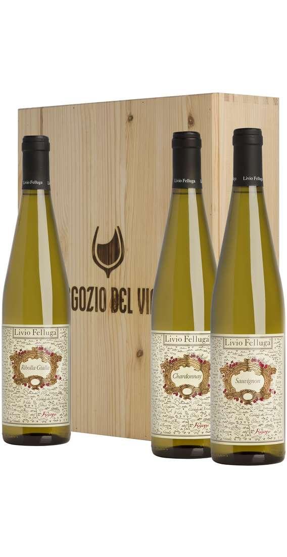 Cassa Legno 3 Vini Sauvignon, Chardonnay, Ribolla Gialla