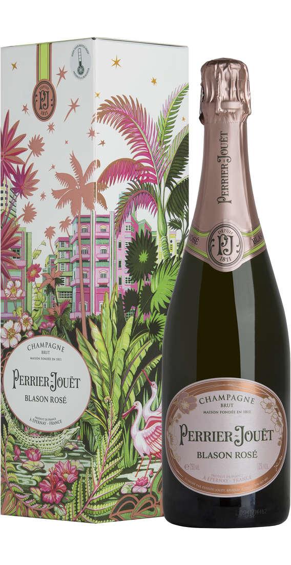 Champagne BLASON ROSÉ Astucciato