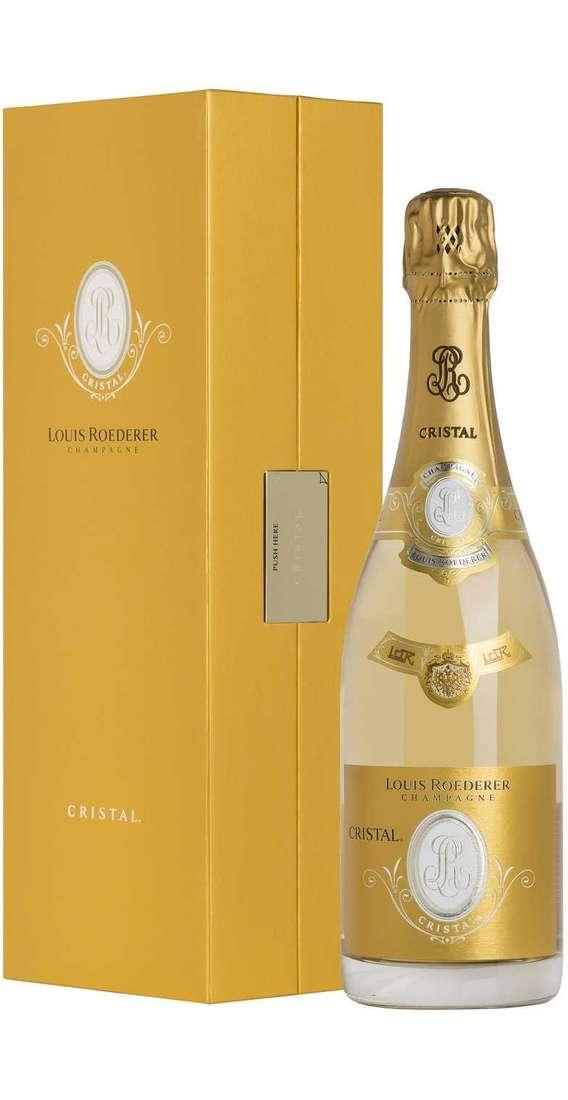 """Champagne Brut """"Cristal"""" 2012 in Cofanetto"""