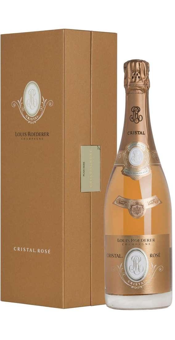 Champagne Brut CRISTAL ROSÉ Astucciato
