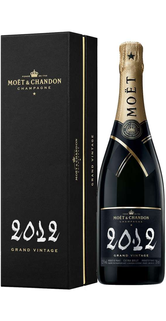 "Champagne Brut ""GRAND VINTAGE 2012"" Astucciato"