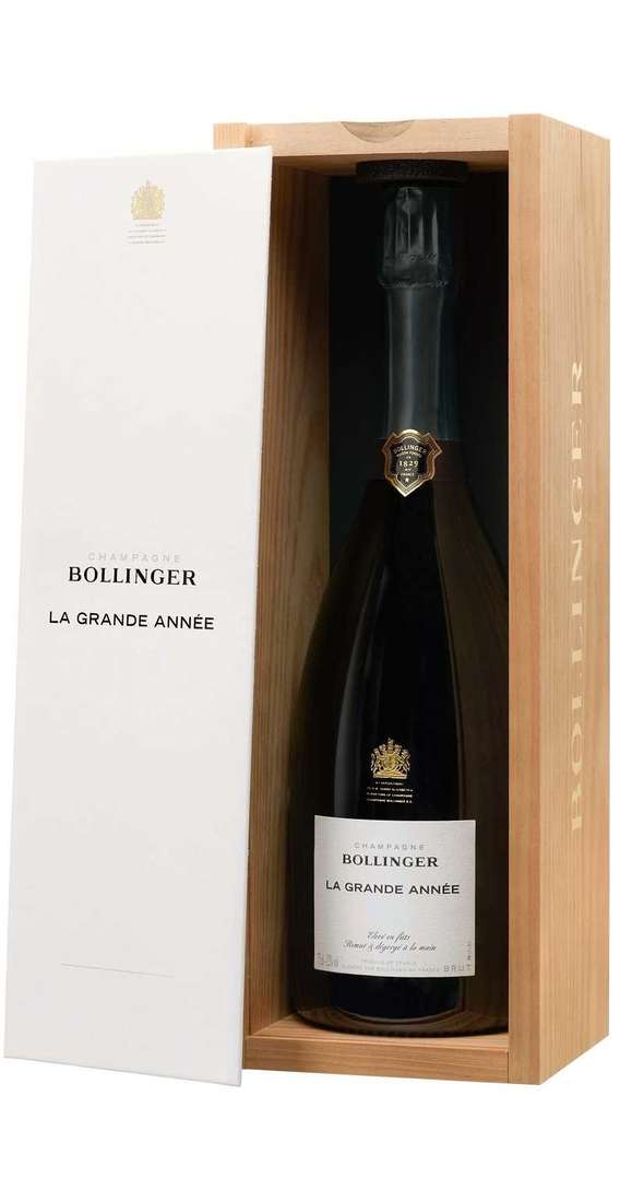 "Champagne Brut ""Grande Annee"" 2012 in Cassa Legno"