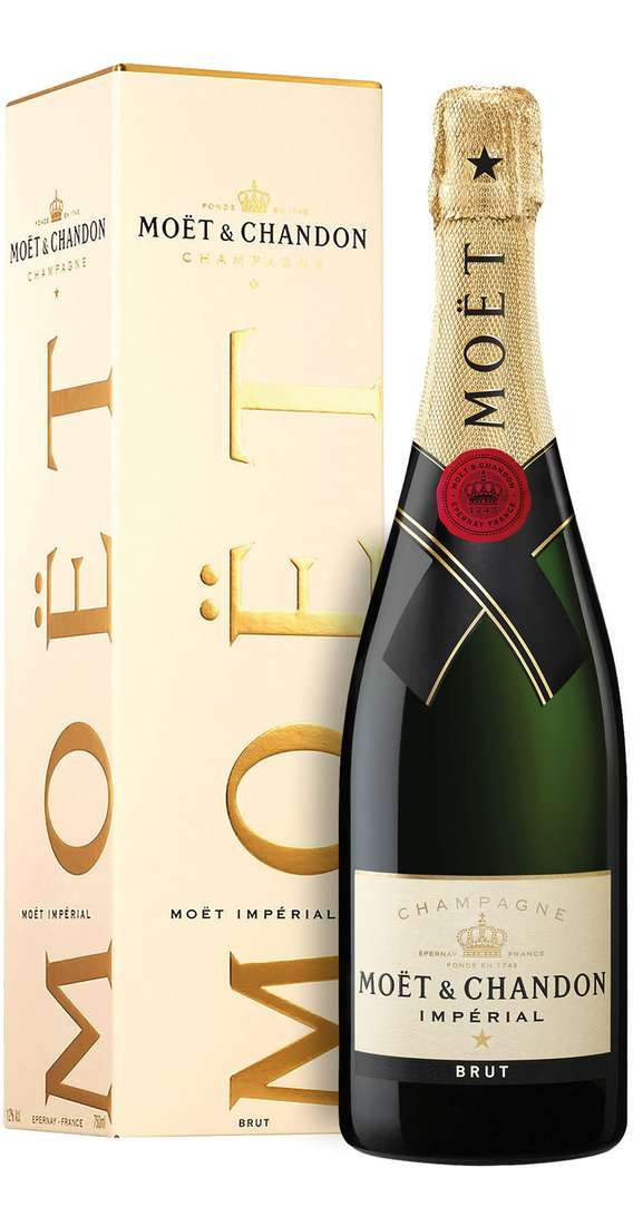 "Champagne Brut ""MOET IMPÉRIAL"" Astucciato"