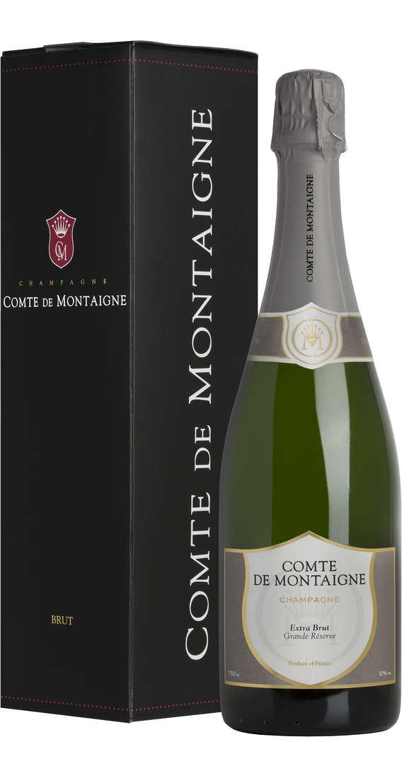 Champagne Extra Brut Grande Reserve Astucciato
