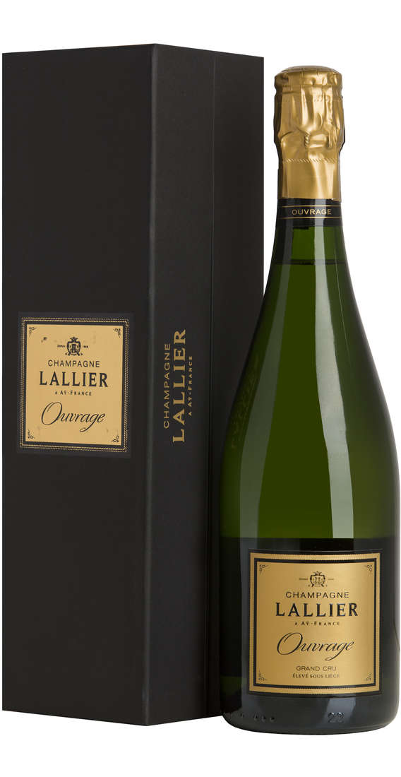 """Champagne GRAND CRU """"Ouvrage"""" In Cofanetto"""