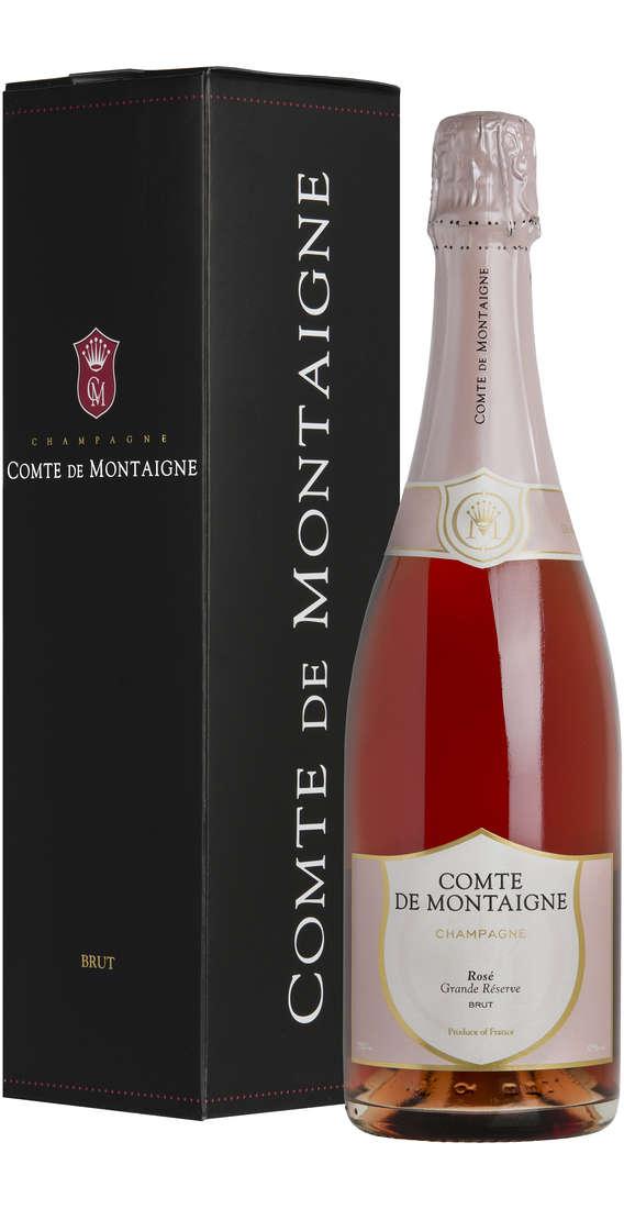 Champagne Grande Reserve Rosé Astucciato