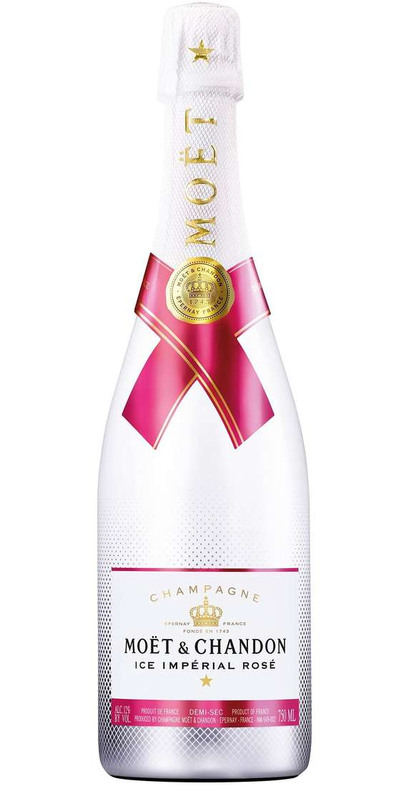 """Champagne """"ICE IMPÉRIAL ROSE'"""""""