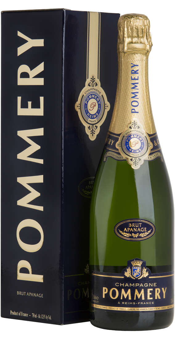 "Champagne POMMERY BRUT ""APANAGE"" Astucciato"