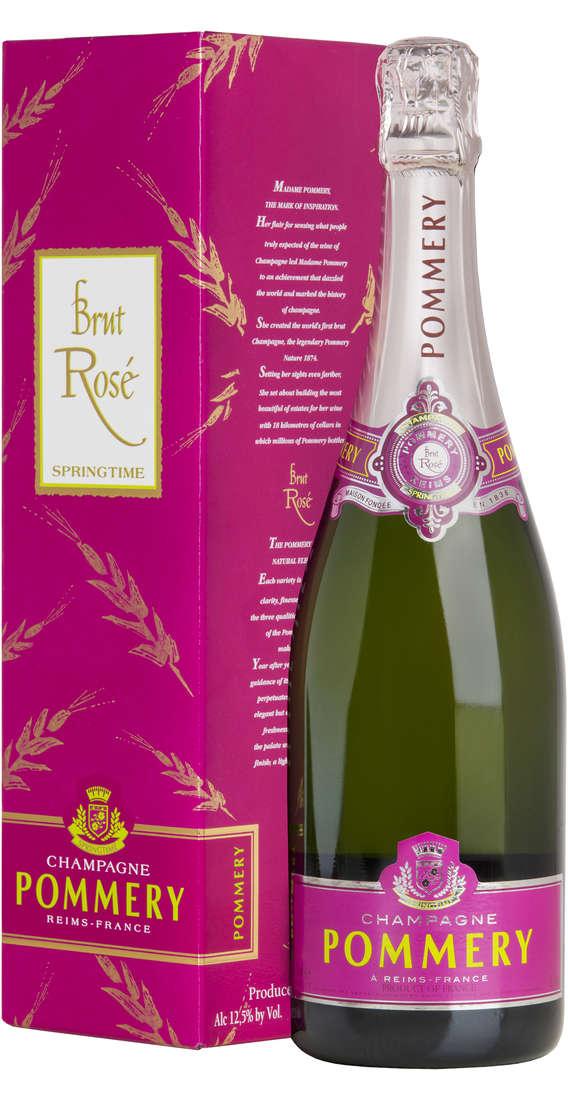 "Champagne POMMERY ""Springtime Brut Rosé"" Astucciato"