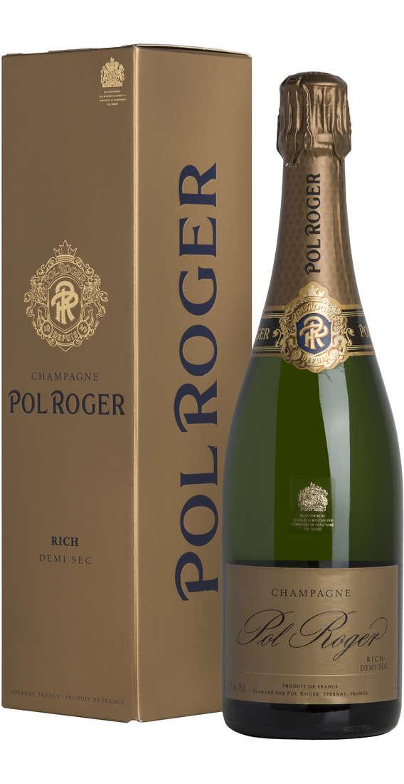 """Champagne """"Rich"""" Demi Sec Astucciato"""