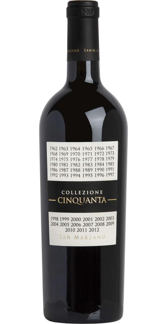 Collezione Cinquanta Vino Rosso d'Italia