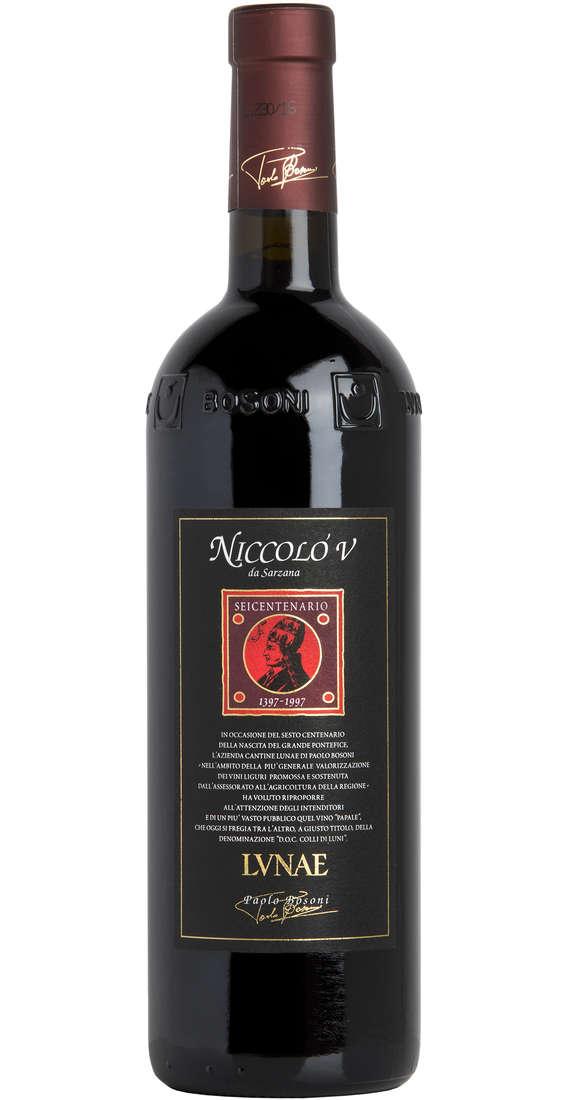 """Colli di Luni Rosso Riserva """"NICCOLO' V"""" DOC"""