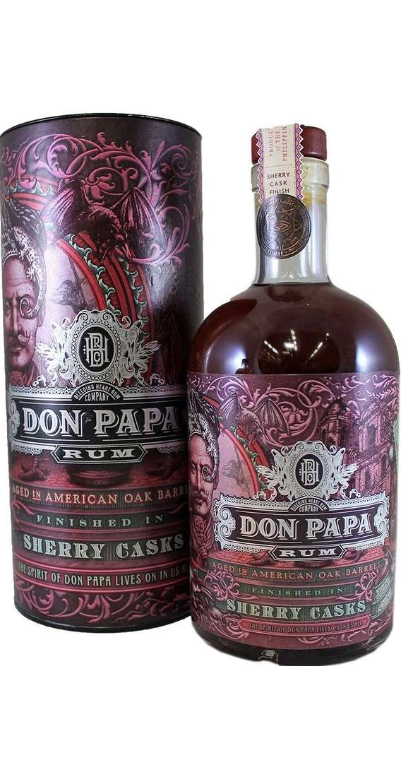 Don Papa SHERRY CASK Rum Astucciato