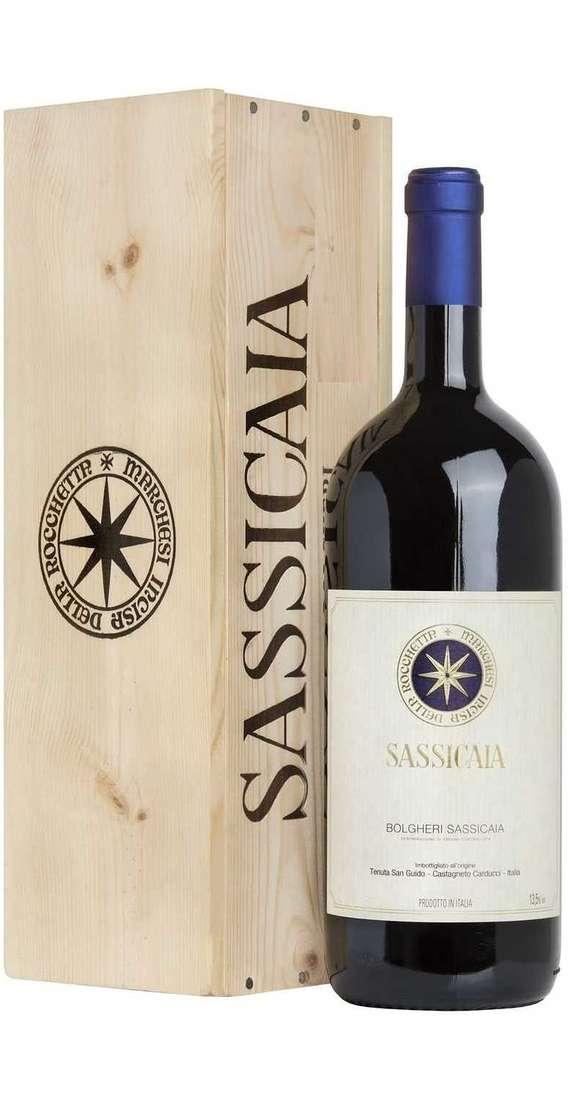 Doppio Magnum 3 Litri Sassicaia in Cassa Legno