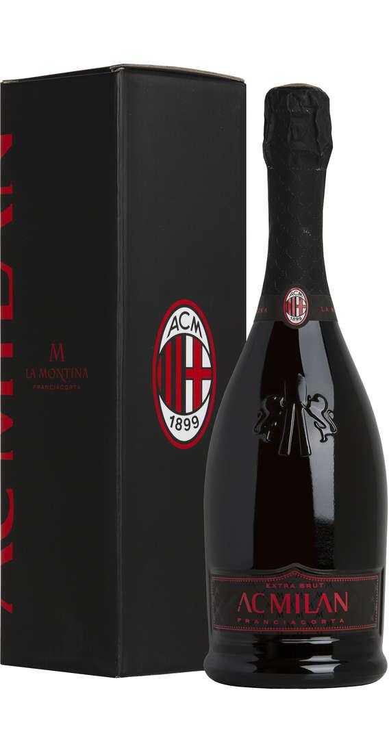 Franciacorta Extra Brut AC Milan Astucciato