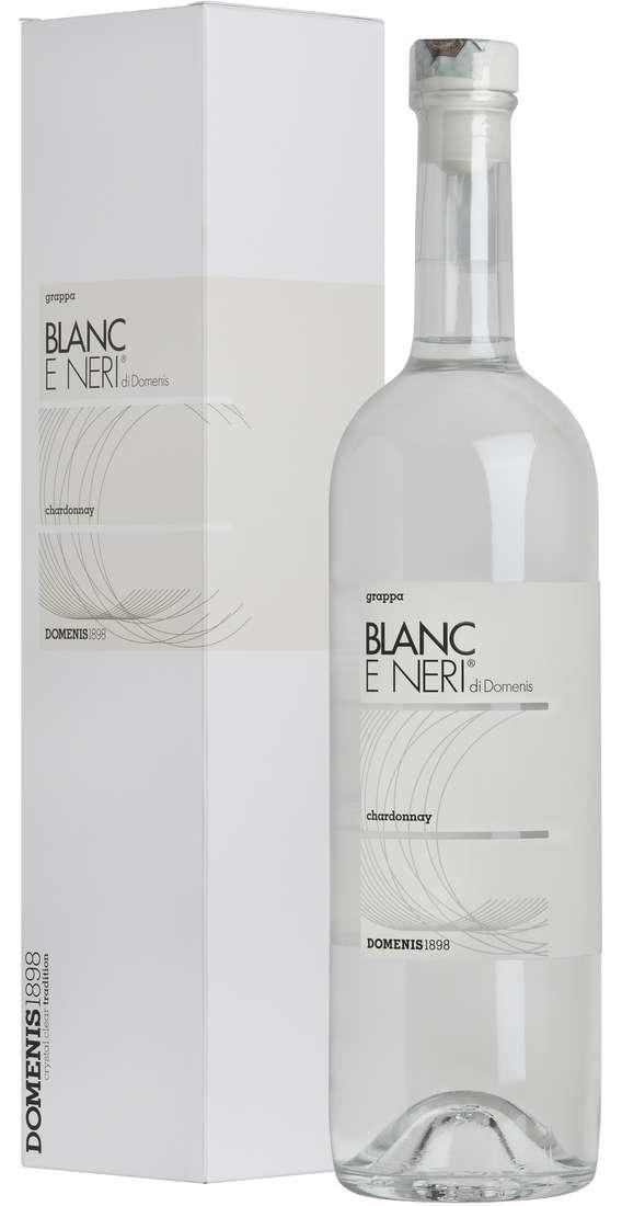 Grappa Blanc e Neri di DOMENIS Blanc Chardonnay in Astuccio