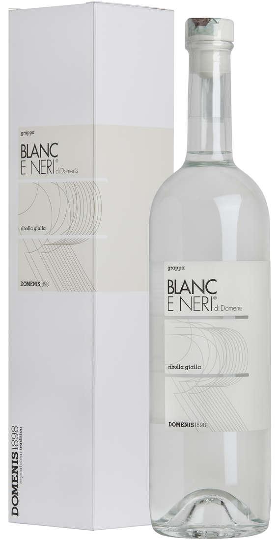 Grappa Blanc e Neri di DOMENIS Blanc Ribolla Gialla in Astuccio