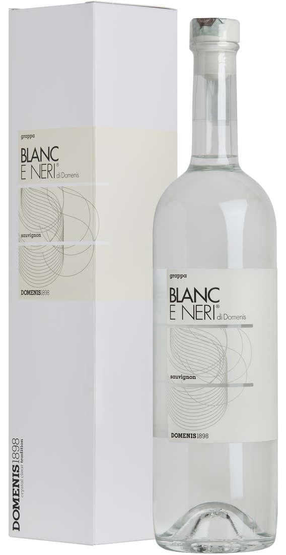 Grappa Blanc e Neri di DOMENIS Blanc Sauvignon in Astuccio