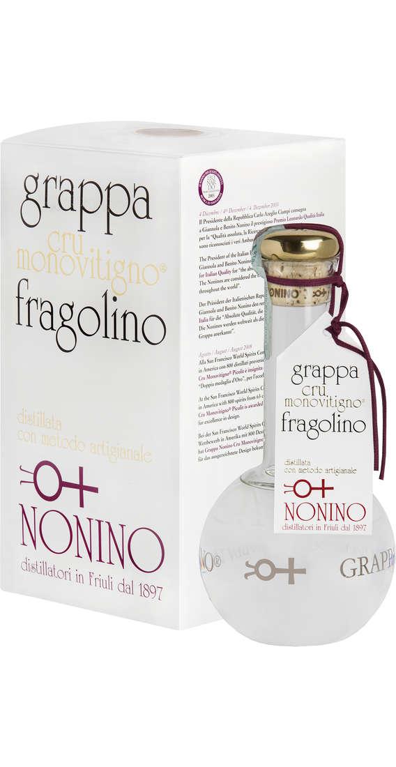 """Grappa """"CRU Monovitigno"""" Fragolino Astucciata"""