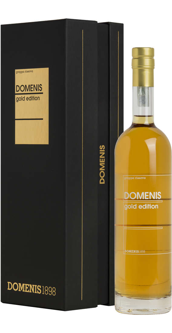 Grappa DOMENIS Gold Edition in Astuccio