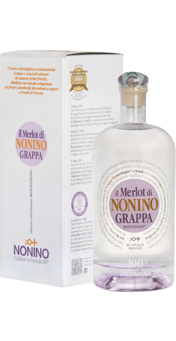 Grappa Merlot Limited Edition Astucciata