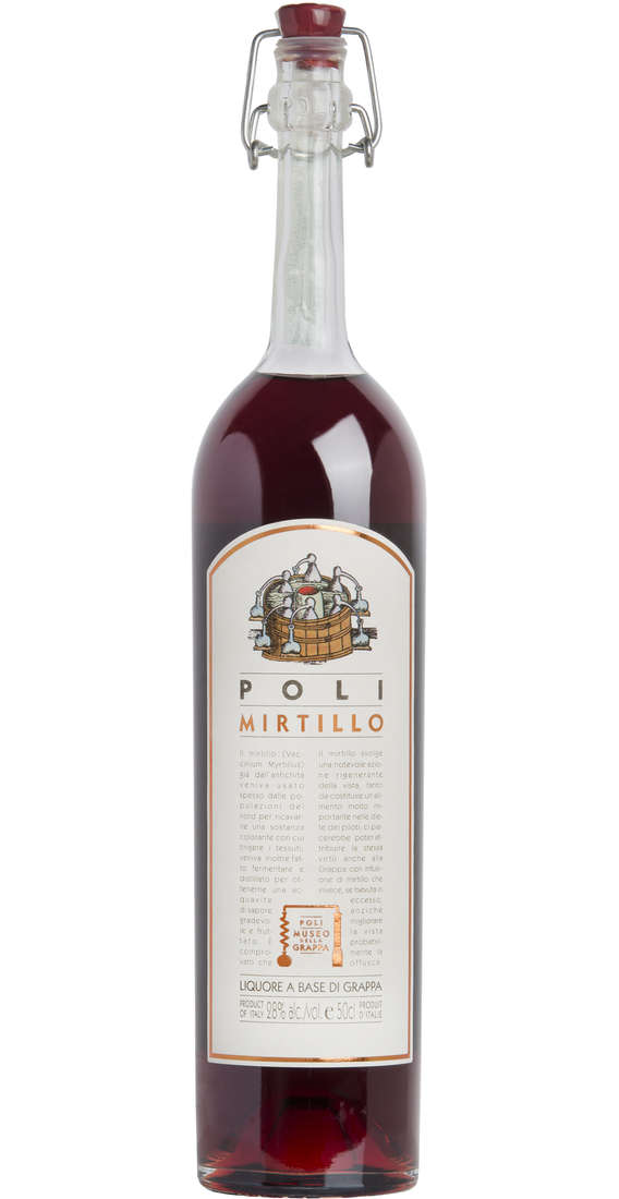 "Grappa ""Poli Mirtillo"""