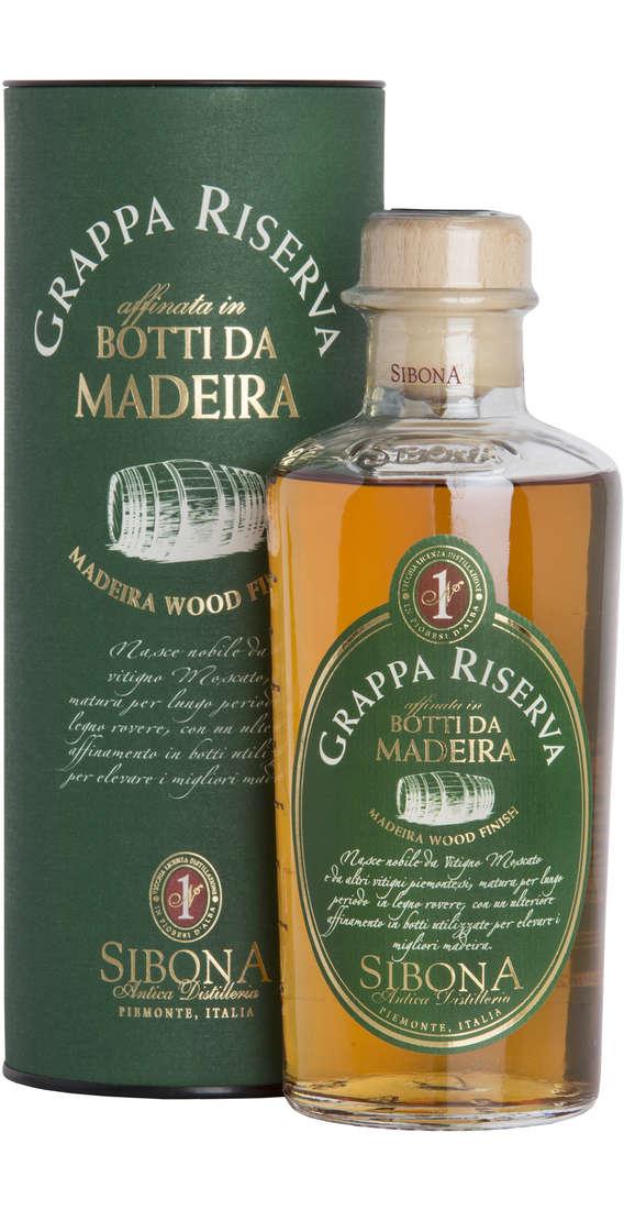 """Grappa RISERVA """"Invecchiata in Botti da Madeira"""" Astucciata"""