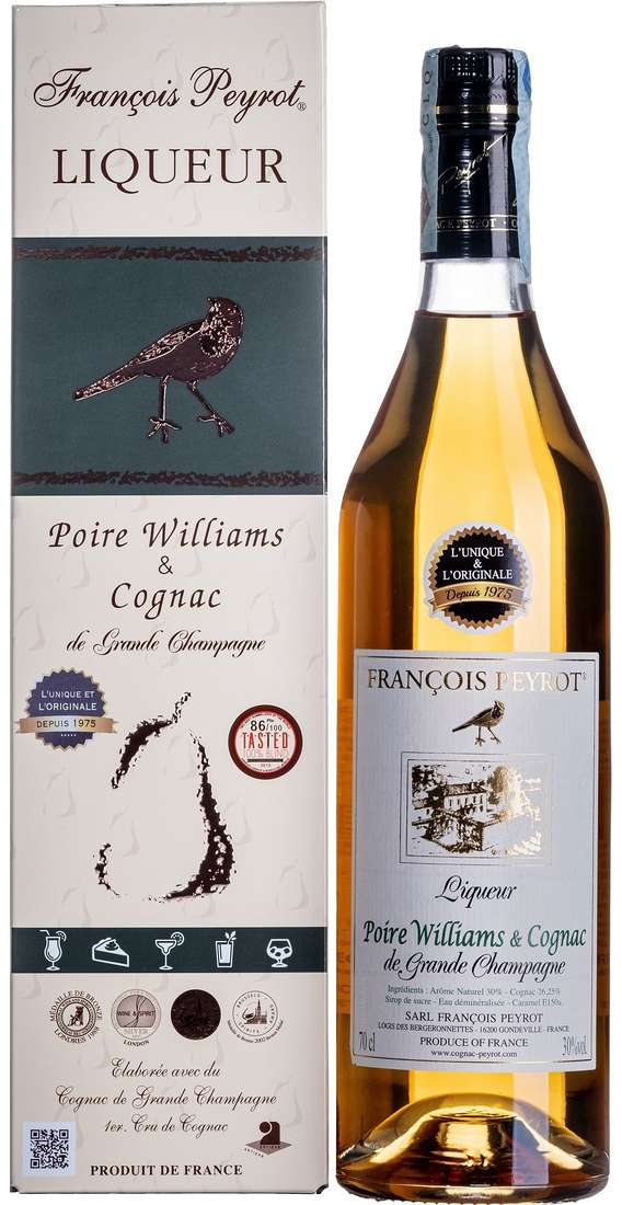Liqueur Poire & Cognac Astucciato