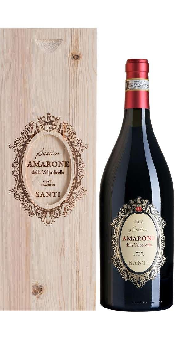 """Magnum 1,5 Litri Amarone della Valpolicella Classico """"SANTICO"""" DOCG in Cassa Legno"""