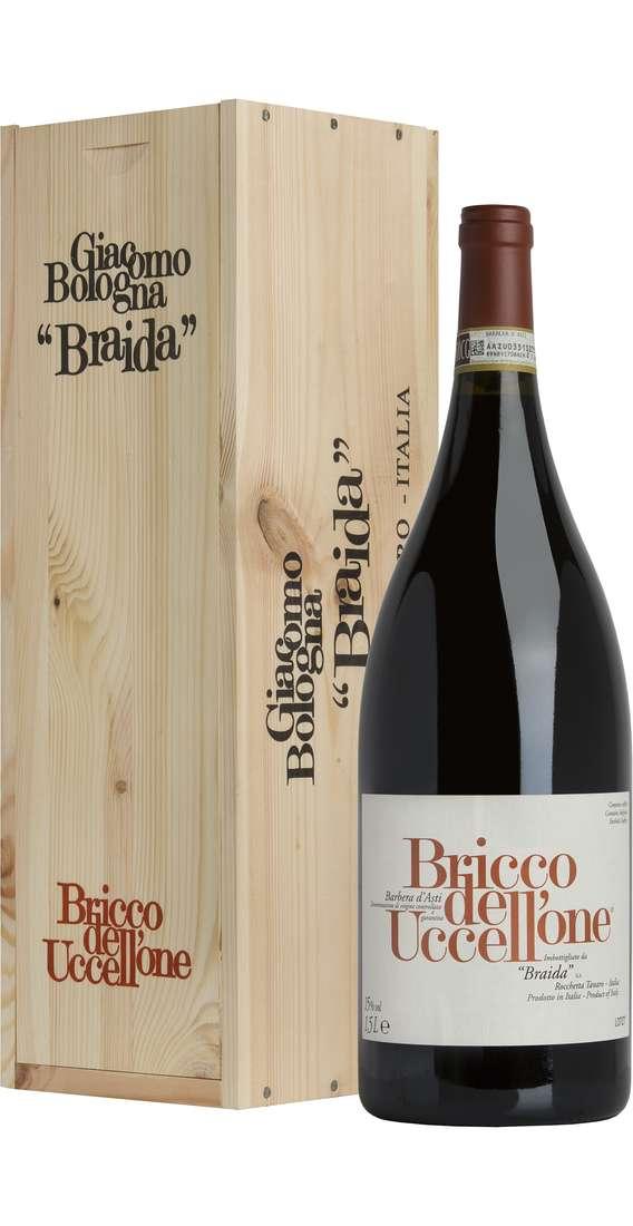 """Magnum 1,5 Litri Barbera d'Asti """"Bricco dell'Uccellone"""" DOCG in Cassa Legno"""
