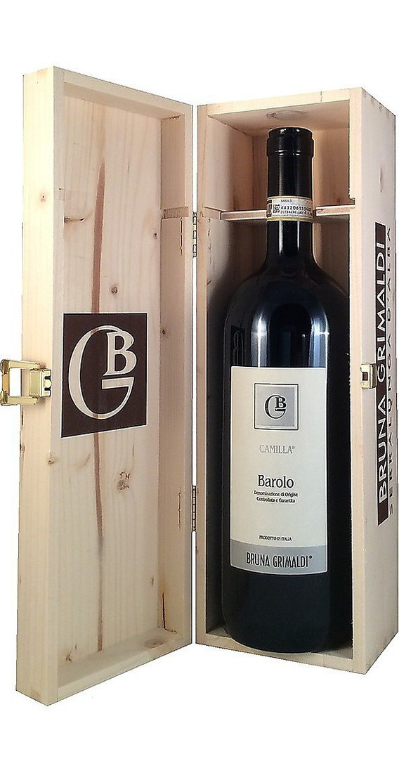 """Magnum 1,5 litri Barolo """"Camilla"""" DOCG in Cassa Legno"""