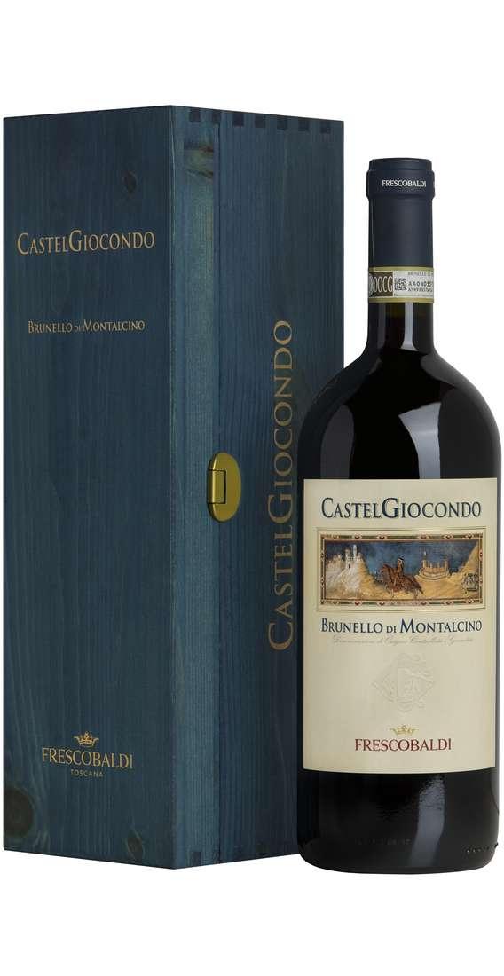 """Magnum 1,5 Litri Brunello di Montalcino """"CASTELGIOCONDO"""" DOCG In Cassa Legno"""