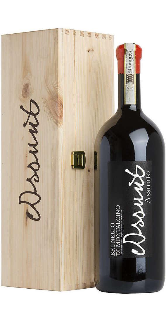"""Magnum 1,5 Litri Brunello di Montalcino DOCG 2012 """"Assunto"""" in Cassa Legno"""