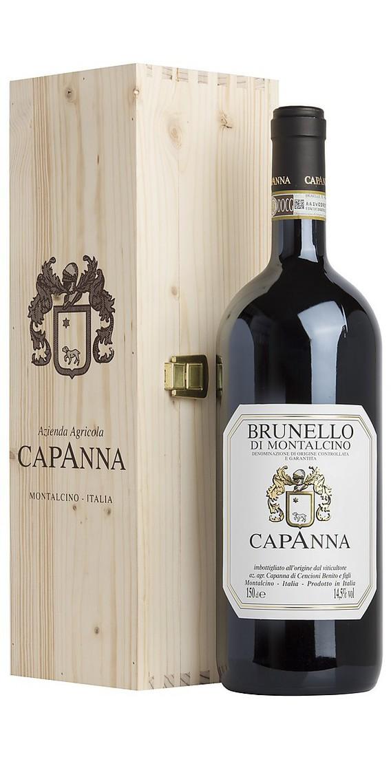Magnum 1,5 litri Brunello di Montalcino DOCG 2015 in Cassa Legno