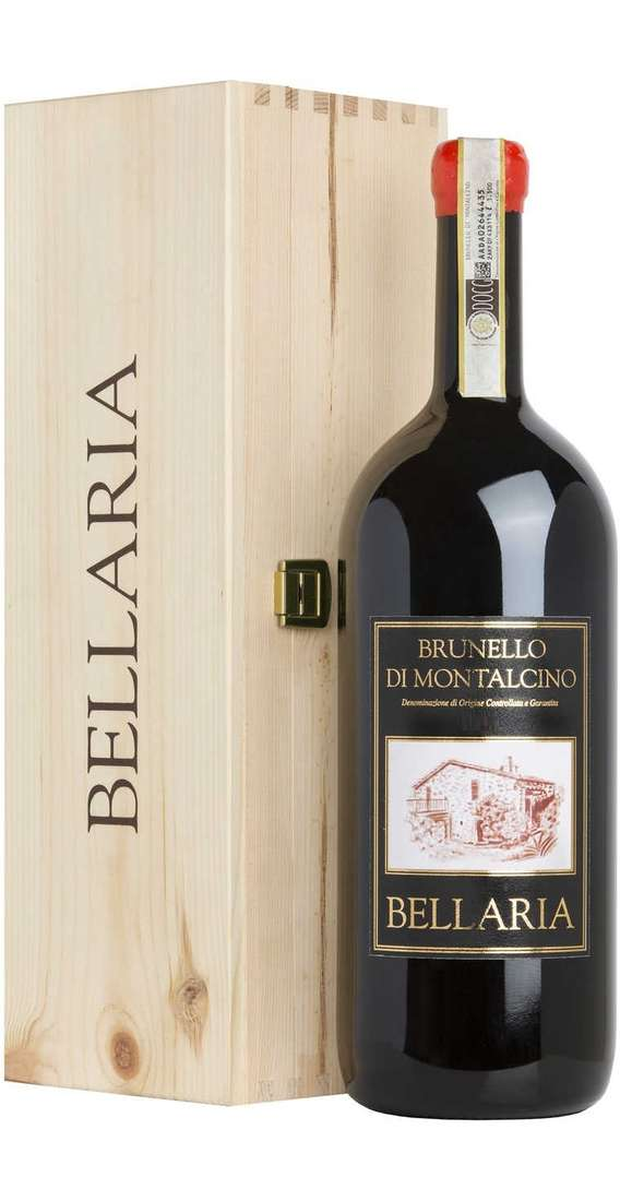 """Magnum 1,5 Litri Brunello di Montalcino DOCG """"Bellaria"""" in Cassa Legno"""