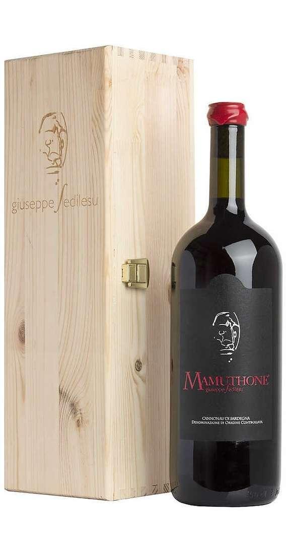 "Magnum 1,5 Litri Cannonau ""Mamuthone"" DOC in Cassa Legno"