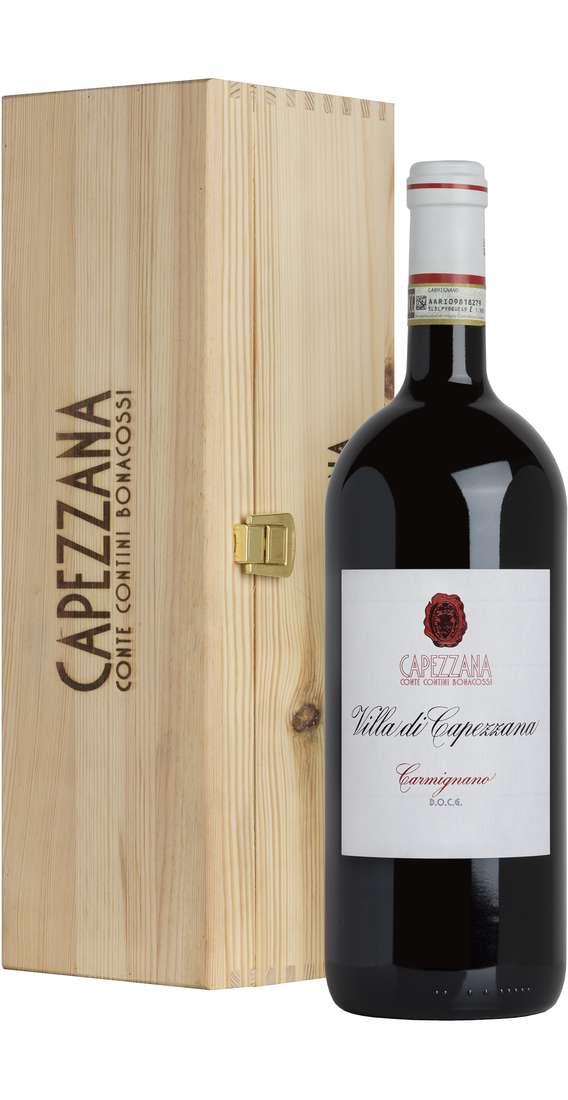 """Magnum 1,5 Litri Carmignano """"Villa Capezzana"""" DOCG in Cassa Legno"""
